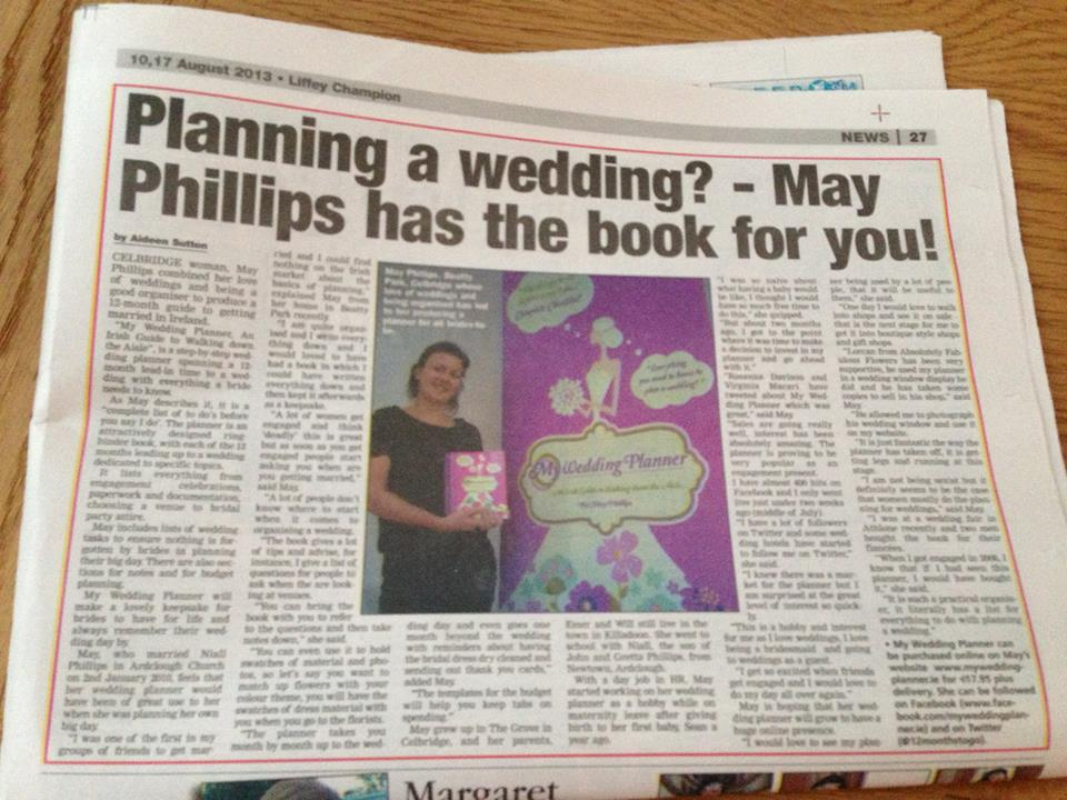 my wedding planner liffey champion