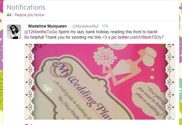 My-Wedding-Planner-Irish-Guide-Madeline Mulqueen Tweet