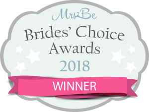 Brides Choice Awards 2018 WINNER
