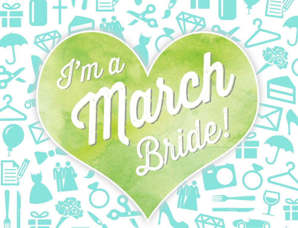 March Bride, Planning a March Wedding?